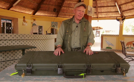Craig Boddington offers advice at picking and packing a gun case while travelling on a safari.