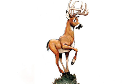 Illustration by Mike O'Brien  If you have a deer tag in your wallet: You are most likely a married