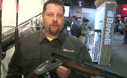 Benelli was at the 2015 SHOT Show in Las Vegas to introduce its newest over/under shotgun, the