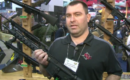 Rock River Arms was at the 2015 SHOT Show in Las Vegas to introduce its newest product, the