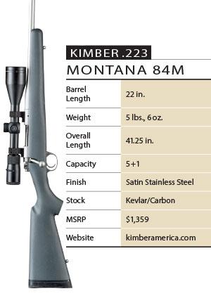 Kimber Montana 84m Specs
