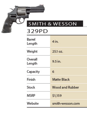 Smith & Wesson 329PD Specs