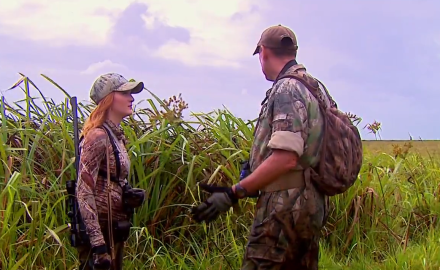 Brittany Boddington has to make her way through the swamps of Mozambique for a chance at a
