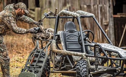 Silent, Clean, and Fast Seeing a need for a quality electric vehicle for outdoorsmen, TORQ