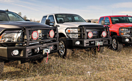 From the Outback to Your Full-Size Truck For a hard-working truck that really needs a lot of