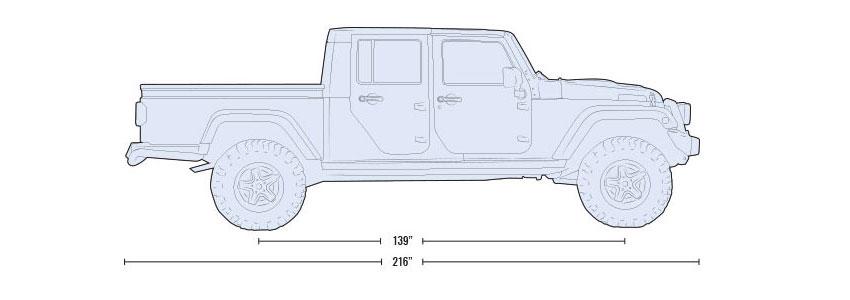 Layout: 4WD 5-Passenger, 4-Door Pickup