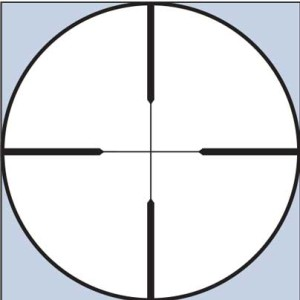 Leupold's basic duplex reticle has been around for decades because hunters love it. It's simple and effective and, when use in conjunction with the power adjustment, can serve as a basic rangefinidng device.