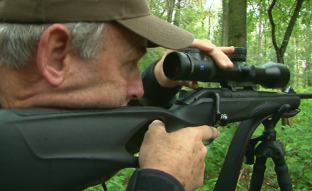 Kevin Steele and company get a chance to hunt giant fallow deer in eastern Hungary.