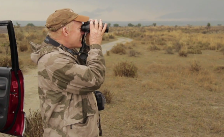 Craig Boddington is making his way through the Indus River Valley in search of Indian gazelle.