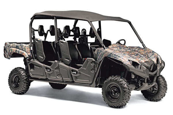 Hunting 39 s 2015 atv buyers guide petersen 39 s hunting for Yamaha viking 6 seater top speed