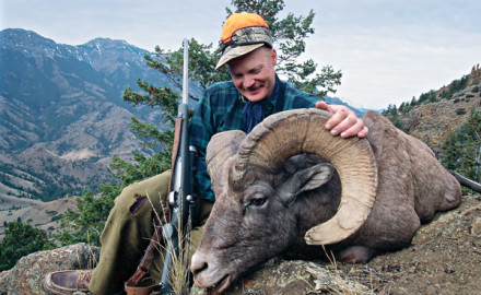 The first bighorn ram I ever saw was on top of one of the highest points in Montana in a place