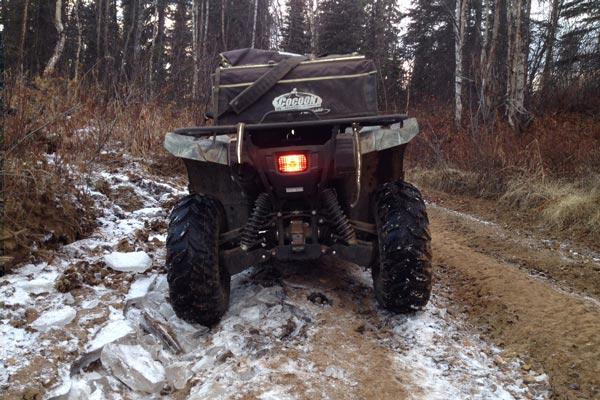 On-frozen-ground