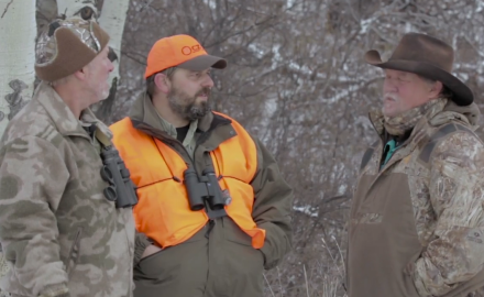 Kevin Steele and Jason Morton get more than they bargained for as they battle below zero temps in