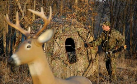 The tree stand vs. ground blind debate has long separated hunters on many topics, including