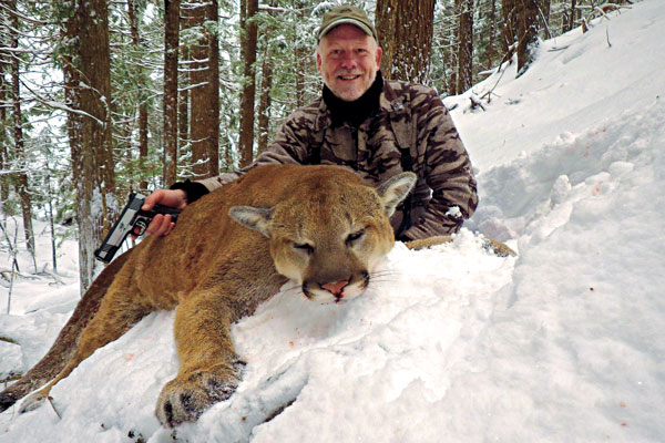 Best States for Mountain Lion Hunting