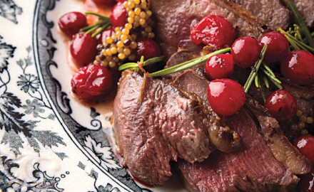 Follow this recipe to see how great goose breast really is on the table along with a special cranberry touch.