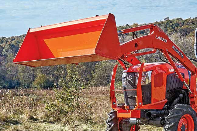 Kubota-Food-Plots-Front-End-Loader