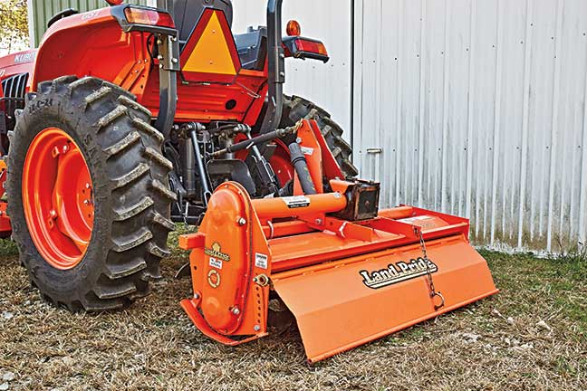 Kubota-food-plot-tiller