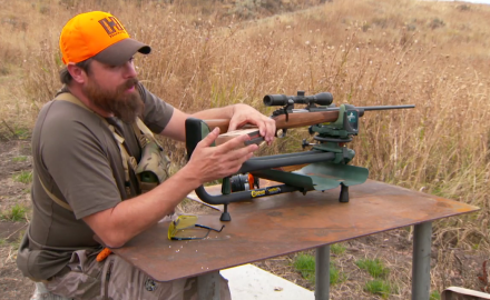 Mike Schoby is getting ready for elk hunting in Utah and it doesn't take long to realize he's about