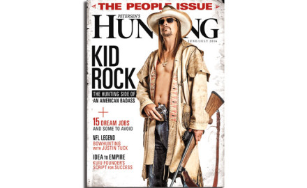 The easy route for any hunting magazine is to simply tell a traditional
