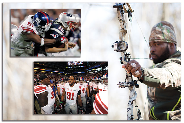 Justin Tuck: The NFL Bowhunter