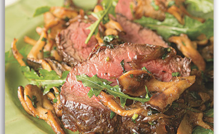 The thing I love about this Venison Backstrap with Caramelized Onions and Mushrooms Recipe is that