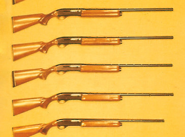 Over the years, Remington has introduced a continuously expanded variety of Model 1100 shotguns.