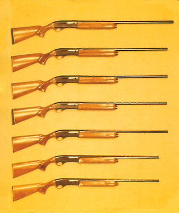 Remington Timeline: 1963 - Remington Model 1100 Autoloading Shotguns