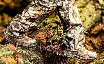 If you can't walk or stand comfortably in a dry pair of boots, it's unlikely you'll tag a deer, or