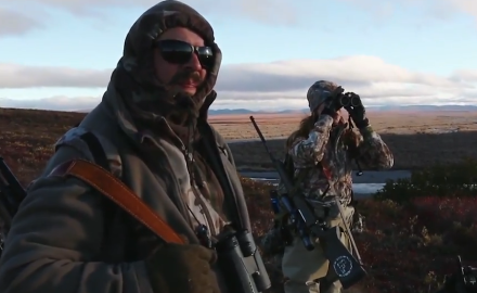 Brittany Boddington joins CZ-USA's Jason Morton north of the Arctic Circle on a hunt for grizzlies.