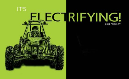 Is it time to ditch the gas-powered off-road vehicles for electric? When the first all-electric