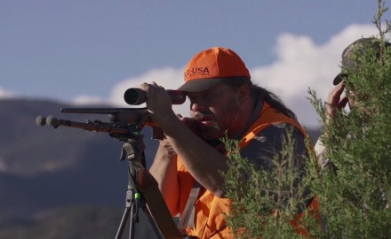 Jason Morton of CZ-USA is on the prowl as he goes after pronghorn sheep in the high plains of