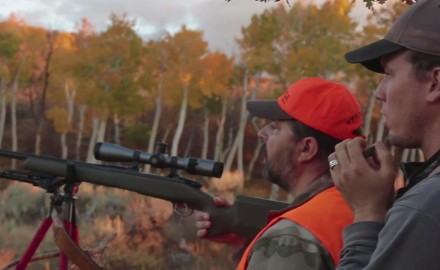 Kevin Steele and CZ-USA's Jason Morton are in Colorado looking for a nice bull elk. Jason is being