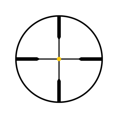 Both AccuPoint and AccuPower scopes offer a wide selection of reticle choices from a standard duplex with an amber dot to MOA-Dot, MIL-Dot, Circle-Crosshair, and German #4 configurations.