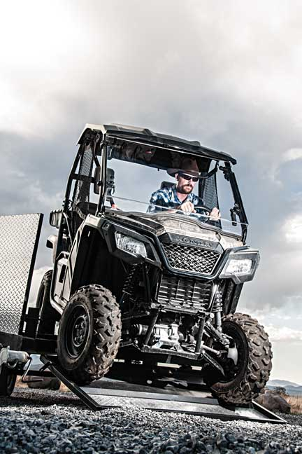 Honda Pioneer 500: The Perfect Hunting Side-By-Side