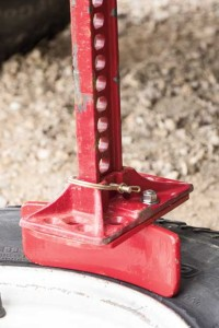 17) The Beadbuster adds precision to Hi-Lift  bead breaking.