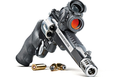Smith & Wesson's MODEL 629 .44 MAGNUM HUNTER is the answer if you're ready to ditch your long