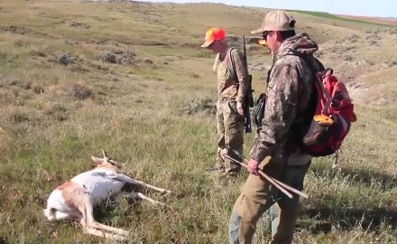 Donna Boddington is in Wyoming where she's mentoring a teacher on her first hunt for