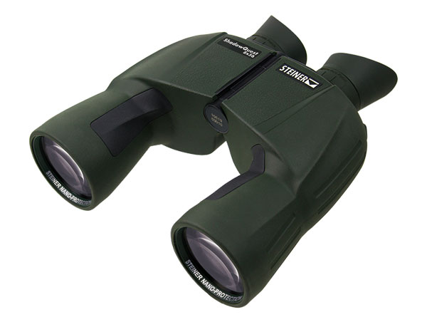 Steiner's ShadowQuest 8x56 binoculars are the industry leaders in light transmission, delivering 96%+ available light to the hunter's eye.
