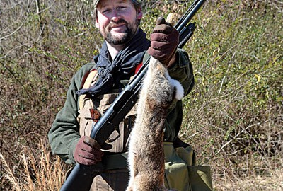 Big game isn't the only meat on the menu— squirrel and rabbit are just as tasty. My friend Alan