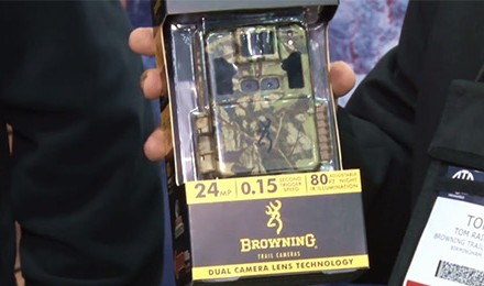 Tom Rainey shares some of the latest product offerings from Browning Trail Cameras.