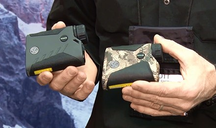 SIG Sauer's Scott Smith discusses optics with Lynn Burkhead and shows us two great rangefinders for