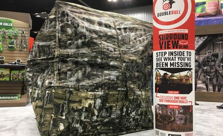 Primos Double Bull SurroundView Ground Blind (Lynn Burkhead photo)  Here are a few of the show's