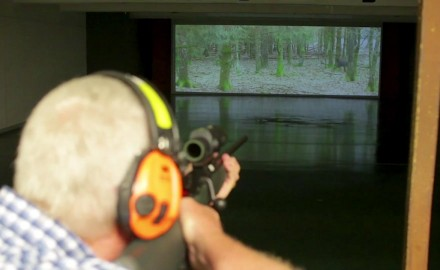 Mike Schoby is at the Aimpoint Shooting Center in Texas where he takes his handgun practice to a