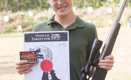 At the NWTF's annual Still Target Championship last fall, the Winchester Long Beard XR ammunition