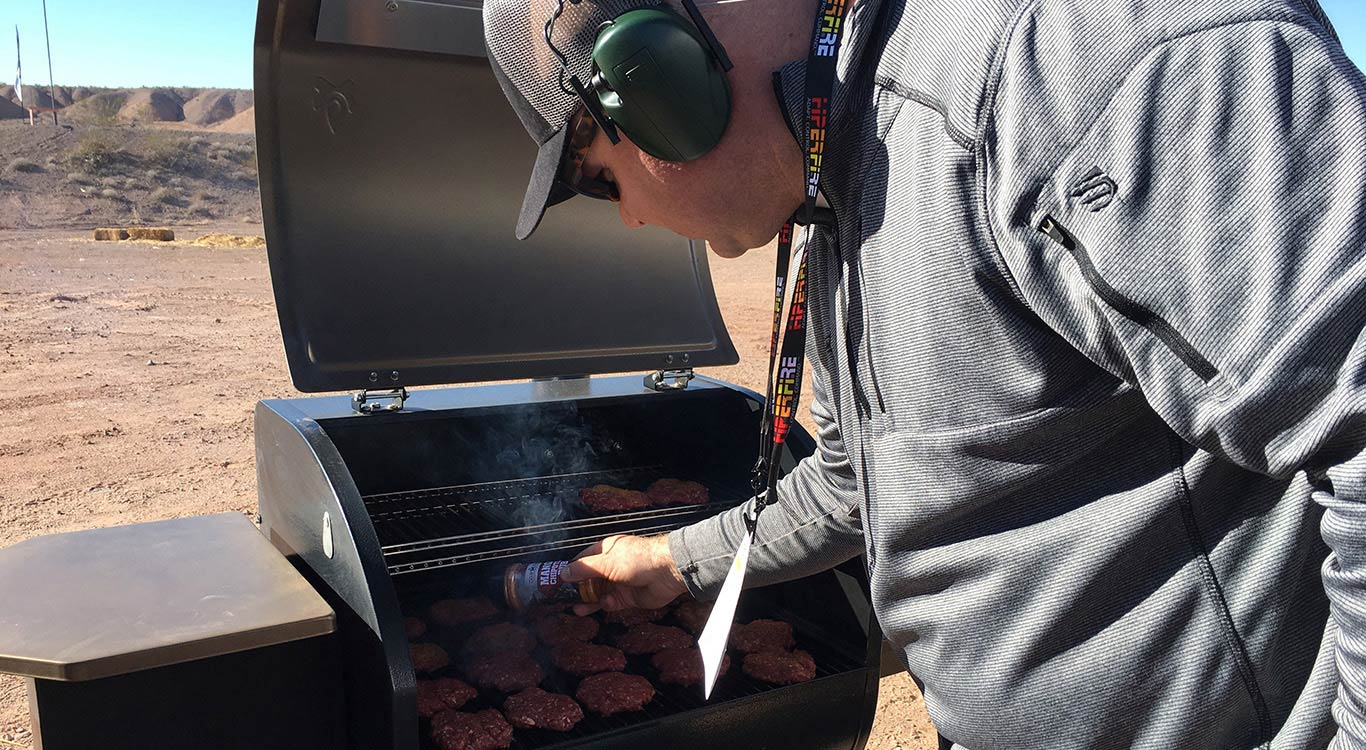 Camp Chef at SHOT Show: Elk Venison Slider Burgers Recipe