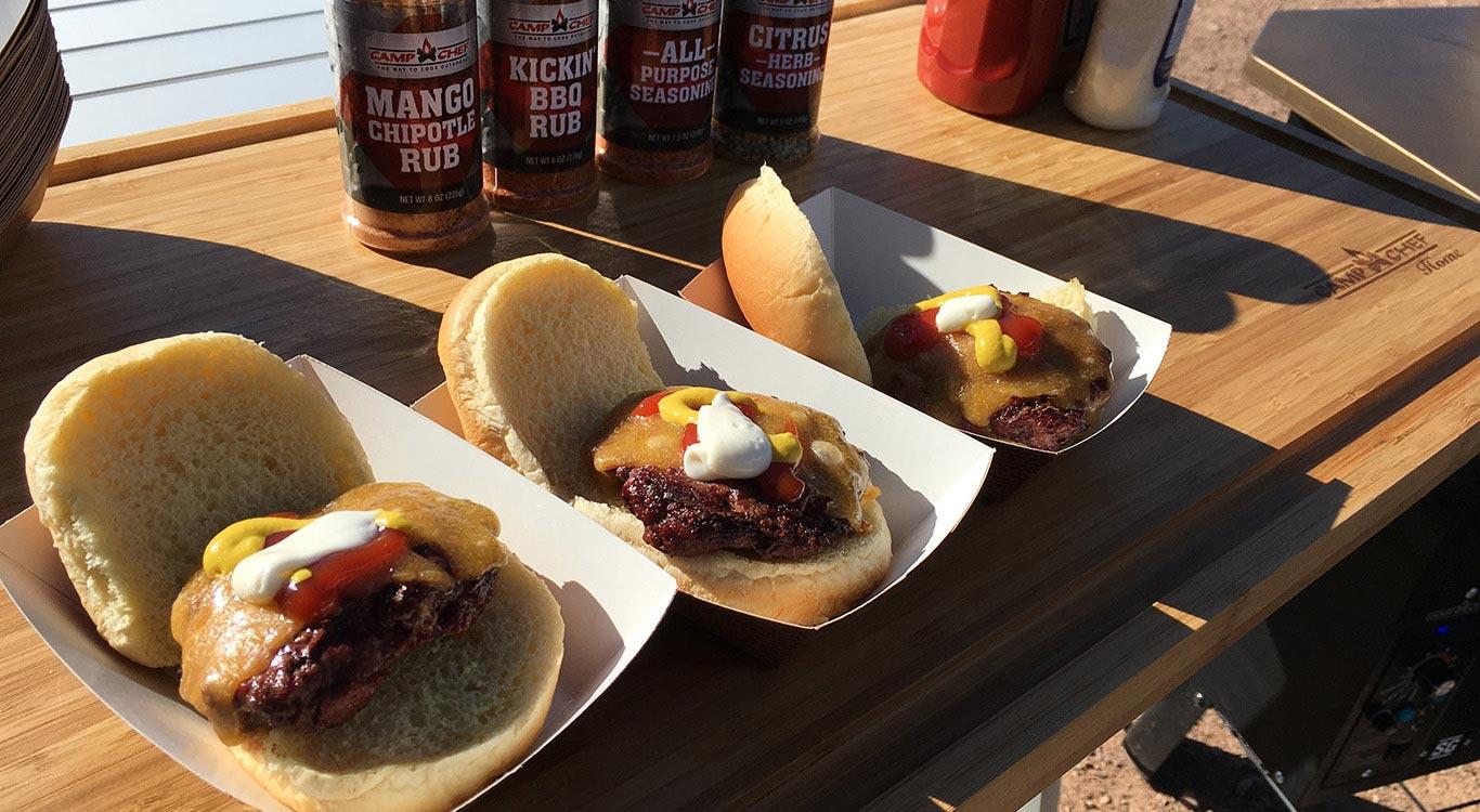 Camp Chef at SHOT Show: Elk Venison Slider Burgers Recipe