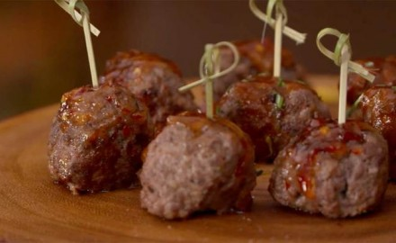 Make this Venison Meatballs Recipe with ground venison or wild turkey   Serve these venison