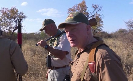 Craig Boddington sets up for a Cape buffalo adventure in South Africa with a handgun.