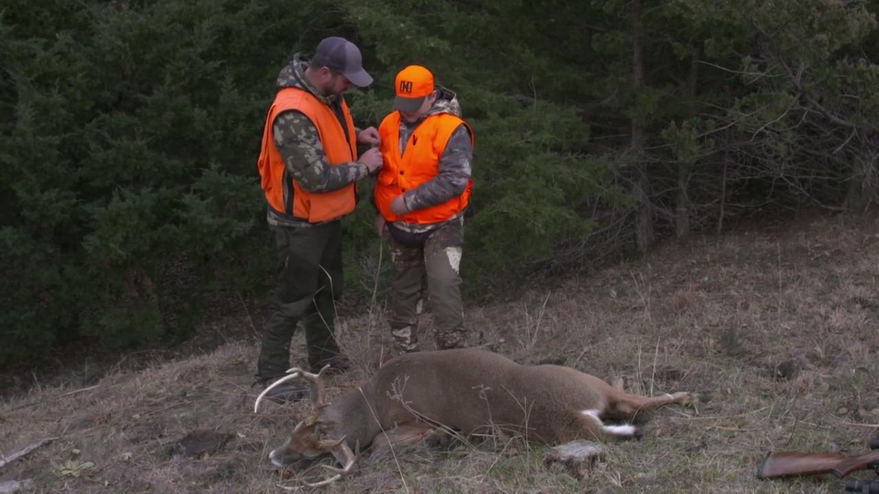 A Boy's First Buck
